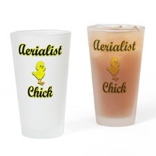 Aerialist Chick Drinking Glass