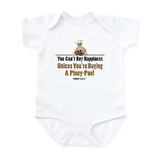 Pinny-Poo dog Infant Bodysuit