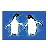 Dancing Penguins Postcards (Package of 8)