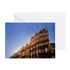 ARCHITECTURAL DETAIL OF BUILDING, PA Greeting Card