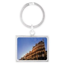 ARCHITECTURAL DETAIL OF BUILDIN Landscape Keychain