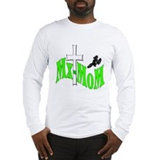 Mx-Mom Kawasaki Motocross Long Sleeve T-Shirt