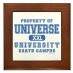 Universe University Framed Tile