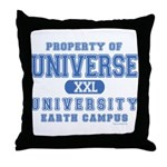 Universe University Throw Pillow