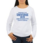 Universe University Women's Long Sleeve T-Shirt