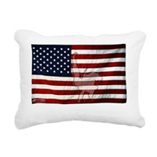 American Judo Rectangular Canvas Pillow