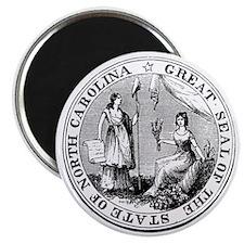 North Carolina State Seal Magnet