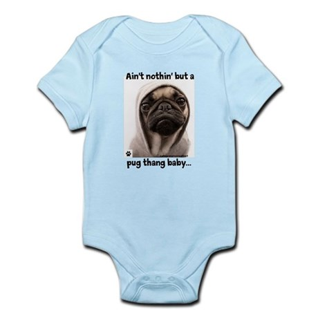 Pug Thang Body Suit
