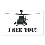 I See You! Rectangle Decal