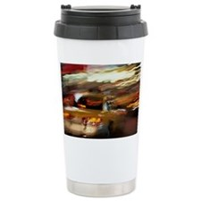 USA, NEW YORK CITY, TIME SQUARE Travel Mug