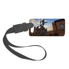 The Fountain of Neptune in Bolog Luggage Tag