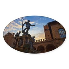 The Fountain of Neptune in Bologna, Decal