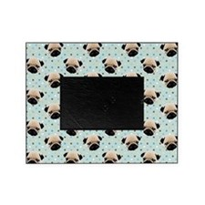 Pugs on Polka Dots Picture Frame