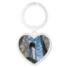 Soul of NY Digital Art Series Heart Keychain