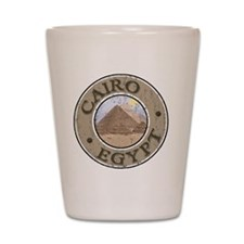 Cairo, Egypt - Distressed Shot Glass