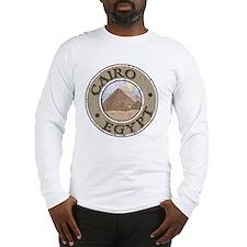Cairo, Egypt - Distressed Long Sleeve T-Shirt