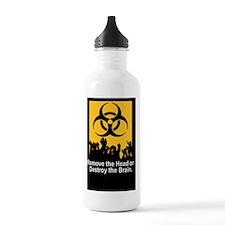 Zombie Killing Instruc Water Bottle