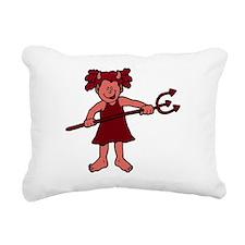 00098_Devil.gif Rectangular Canvas Pillow