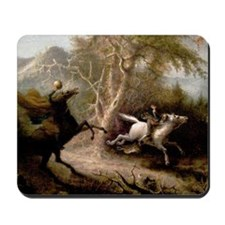 Sleepy Hollow Headless Horseman Mousepad