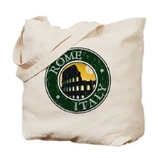 Rome, Italy - Distressed Tote Bag