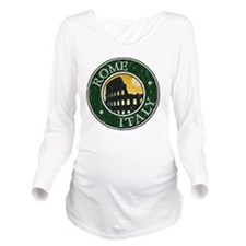 Rome, Italy - Distre Long Sleeve Maternity T-Shirt