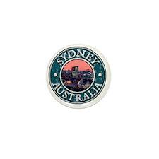 Sydney, AU - Distressed Mini Button