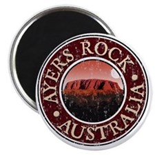 Ayers Rock - Distressed Magnet