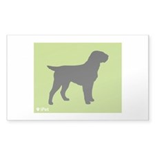 Griffon iPet Rectangle Decal