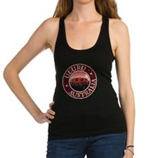 Uluru, Australia - Distressed Racerback Tank Top