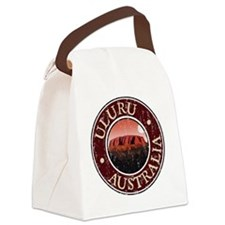 Uluru, Australia - Distressed Canvas Lunch Bag
