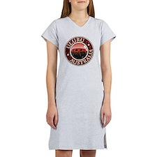 Uluru, Australia - Distressed Women's Nightshirt