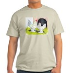 Porcelain d'Uccle Rooster and Light T-Shirt