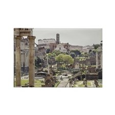 Roman Forum Rectangle Magnet