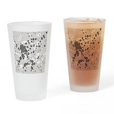 Grunge Drinking Glass