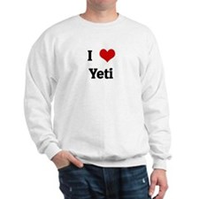 I Love Yeti Sweatshirt