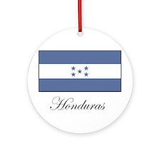 Honduras - Flag Ornament (Round)