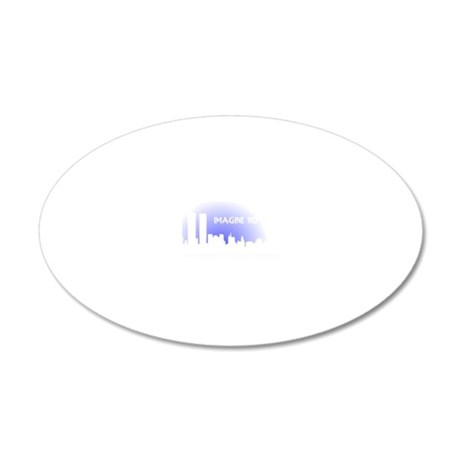 noreligion1 20x12 Oval Wall Decal