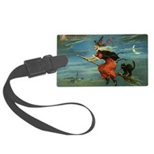 Halloween Witch Luggage Tag