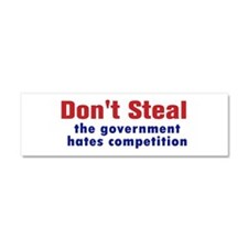 Dont Steal Car Magnet 10 x 3