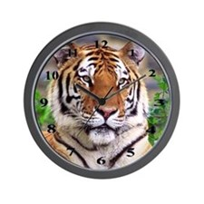 Siberian Tiger Wall Clock