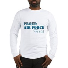 Cute Proud marine brat Long Sleeve T-Shirt