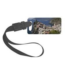 Cinque terre village from above, Luggage Tag