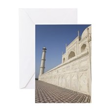 The Taj Mahal Greeting Card