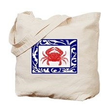 """The Fab Crab"" --  Tote Bag"