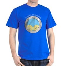 Porthole Twins With White Text Blue B T-Shirt