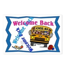 Welcome Back to School Postcards (Package of 8)