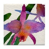 Cute Watercolor Tile Coaster