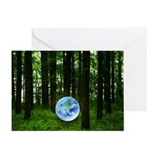 Woods and the earth Greeting Card