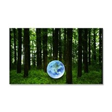 Woods and the earth Car Magnet 20 x 12