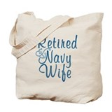 Cute Us navy Tote Bag